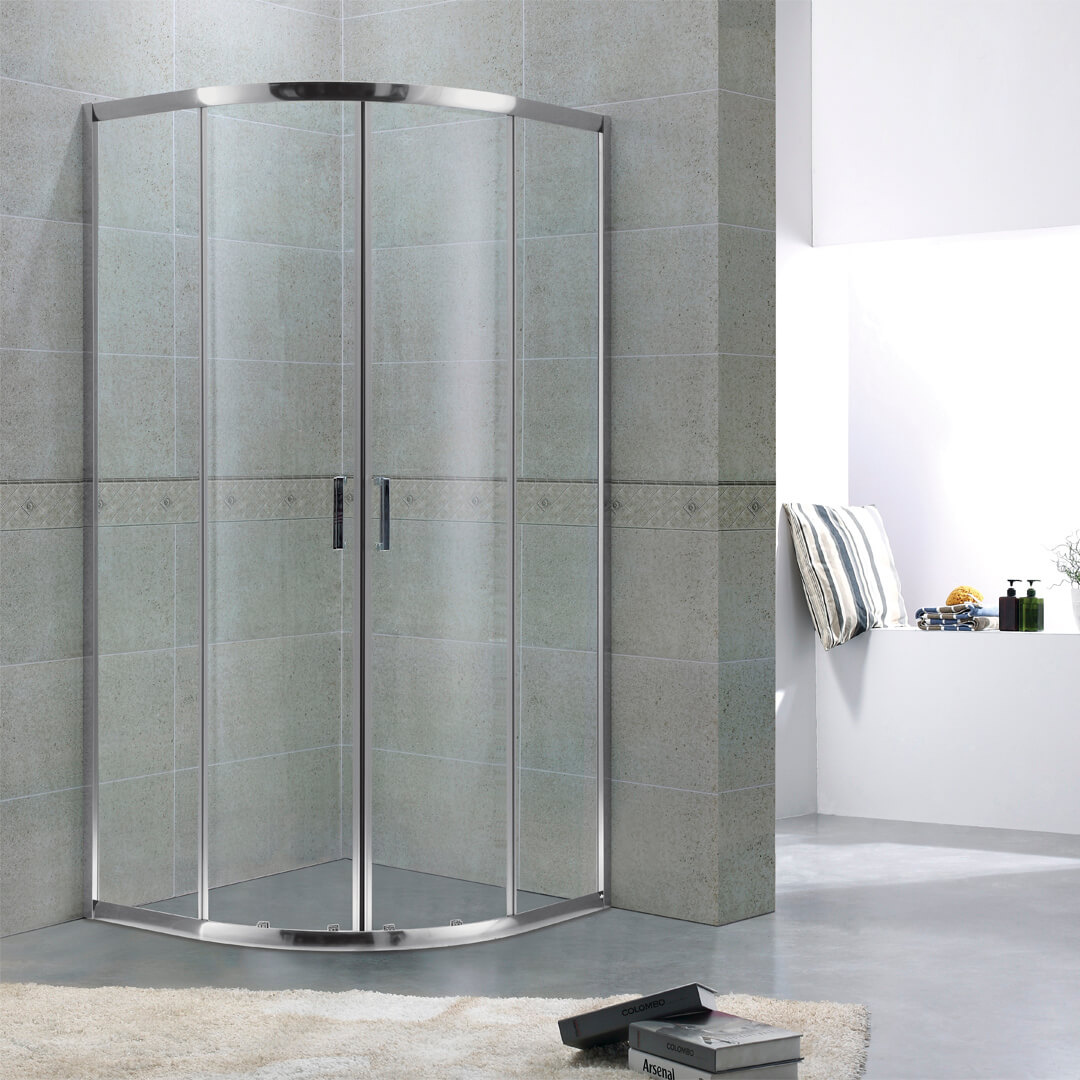 Quadrant shower room