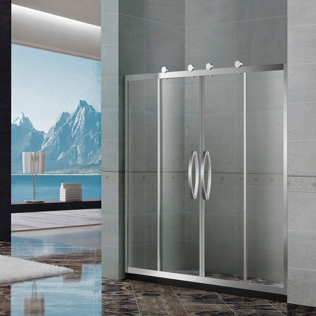 Glass shower door KDS-ga1704