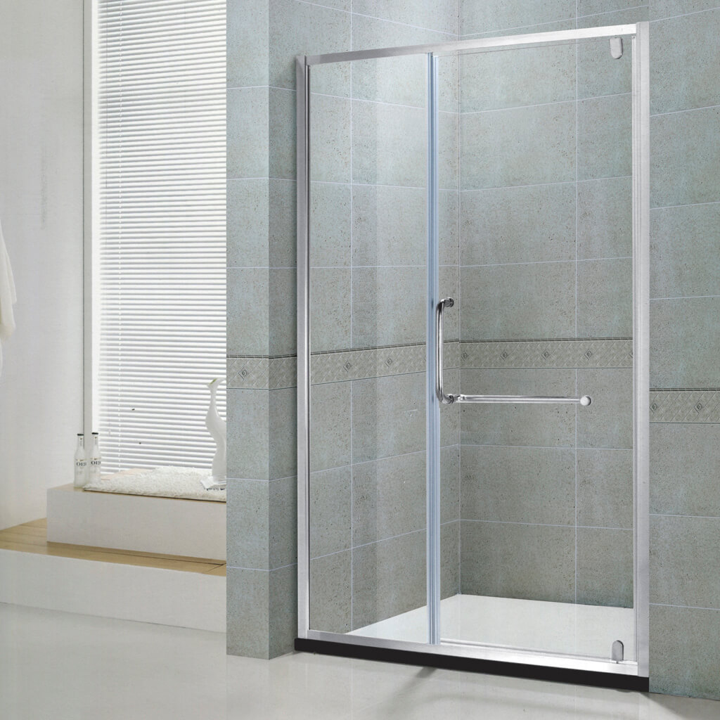 Glass shower door KDS-gd1401