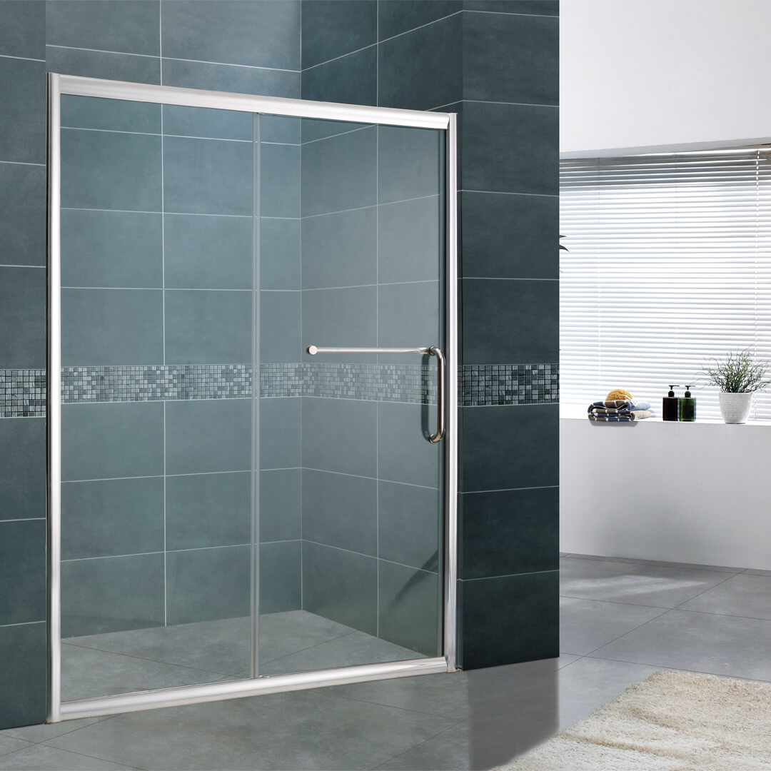 Screen shower room