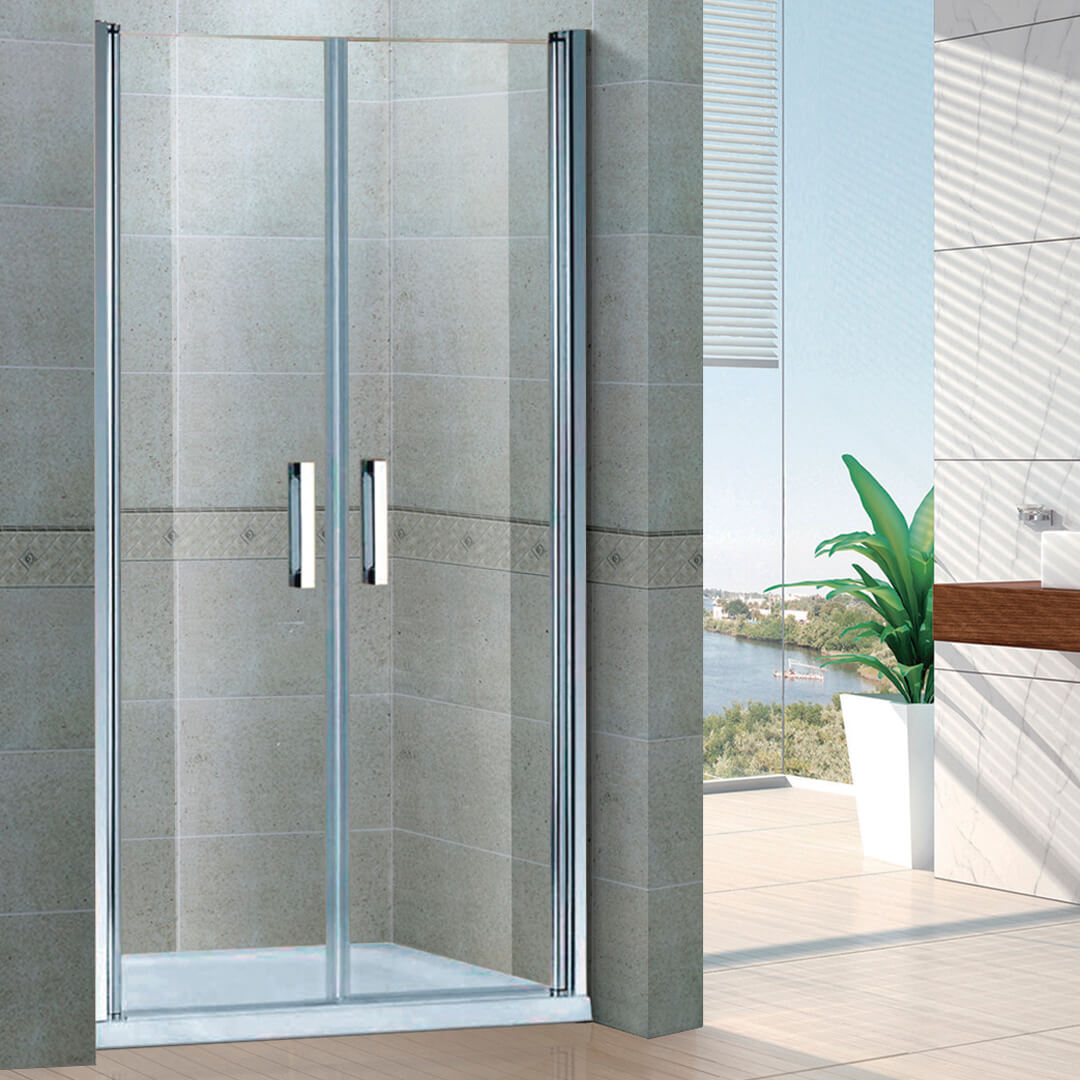 Screen shower cabins