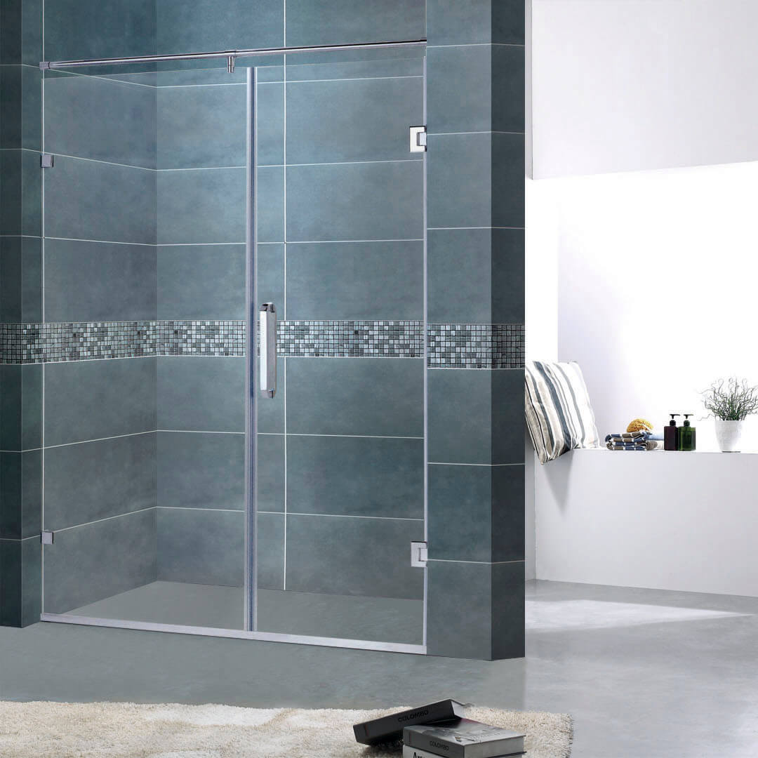 Stainless steel screen shower cabins