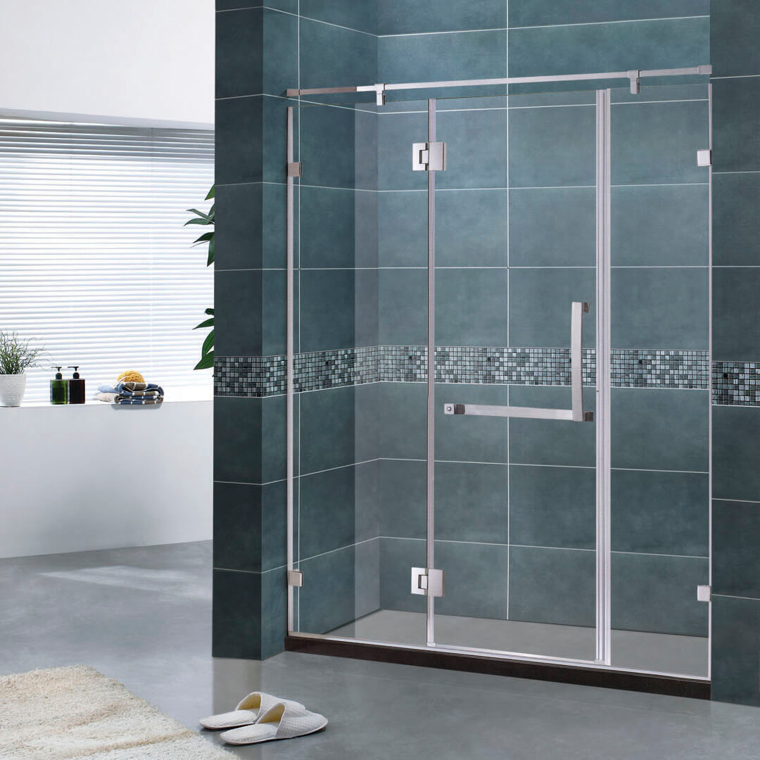 Aluminum screen shower cabins